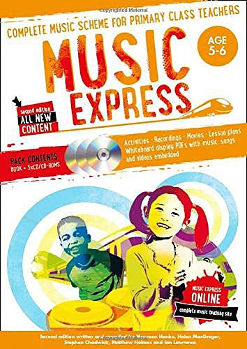 Music Express: Age 5-6 (Book + 3...