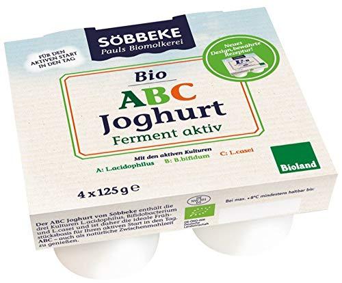 Söbbeke Bio Bio ABC Joghurt mild Multipack (6 x 500 gr)