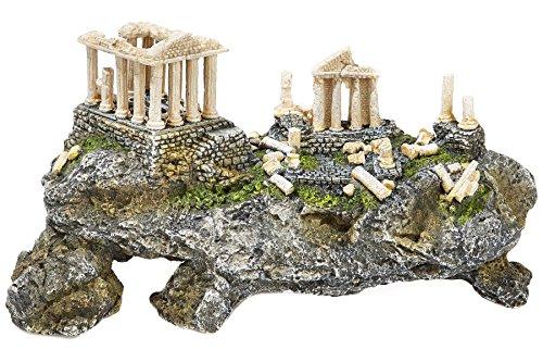 Grande Grèce Acropole Ruine sur Hillside ruines Aquarium Grotte Ornement
