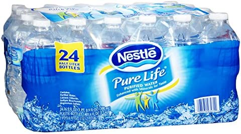 Pure Life 571863 Nestle Pure Life Water 16 9 Oz 24 Carton 110109 product image