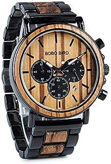 Bobo Bird Dress Watch For Men Analog Wood - W-P09