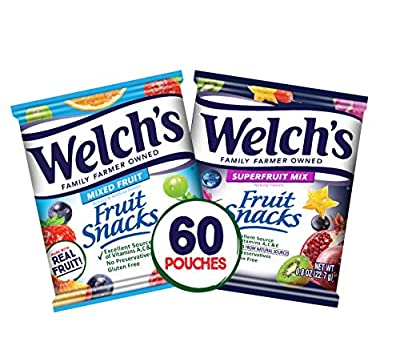 Welch's Snacks Personalized Mother's Day Shaped Box 3 Pouches