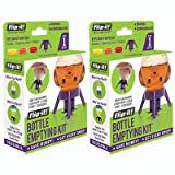 Flip-It! Bottle Emptying Kit (2 Pack, Bright Color Edition)