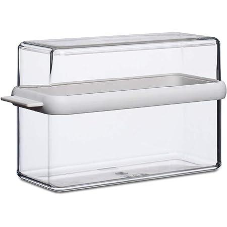Mepal 106719030600 Stora – Blanc – boîte Contenu Visible – idéal pour Les biscottes – sans PBA, SAN/TPE, 21,7 x 9 x 12,8 cm