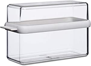 Mepal Knakkenbroodtrommel Stora, plastic, wit, 9 x 12,8 cm