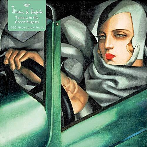 Adult Jigsaw Puzzle Tamara De Lempicka: Tamara in the Green Bugatti, 1929 1000 Pieces: 1000-piece Jigsaw Puzzles