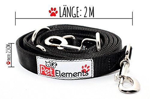 PetElements Premium Hundeleine - Perfekt für jeden Hund - vielseitig einsetzbar!