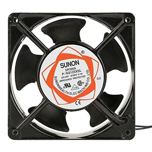 Fdit Ventilador de Incubadora Silencioso Ventilación Portátil de Aire Pequeños Accesorios de Máquina de Incubación 220-240 VCA