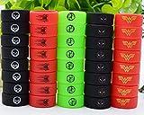 Vape Rings Silicone Anti Slip Band, Mixed Color Protective Silicone, Mixed Rings pour RBA RDA Tank Mécanique Mods, Conception et couleur aléatoires avec une boîte transparente (10 * 24mm,10pcs)