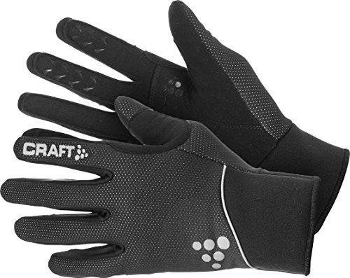 Craft Touring Handschuh, Schwarz, Isolierter Handschuh für kalte Wintertage, Größe M