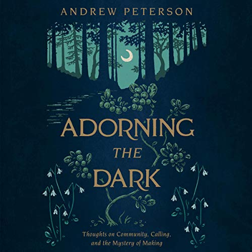Adorning the Dark audiobook cover art