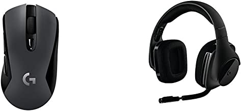 Logitech G603 LIGHTSPEED Wireless Gaming Mouse & Logitech G533 Wireless Gaming Headset bundle