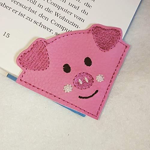 Lesezeichen Leseecke Schwein