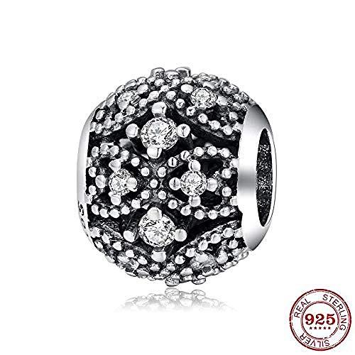 Zilveren Kralen Bedels,925 Sterling Silver Bead Bow Crown Holle Kralen Voor Het Maken Van Sieraden Pandora Armband Ketting Sieraden Maken