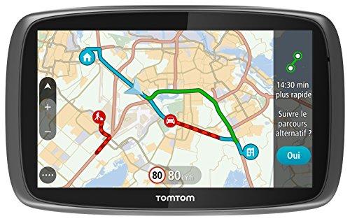 TomTom GO 51 Navigationssystem 12,7 cm (5 Zoll) Touchscreen Fixed Schwarz 235 g - Navigationssysteme (Multi, Intern, Welt, 12,7 cm (5 Zoll), 480 x 272 Pixel, 16:9)