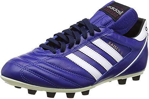 Adidas–Kaiser 5Liga, Herren Fußballschuhe, Schwarz (Black/Running White Ftw), 46 2/3 EU (11.5 Herren UK)