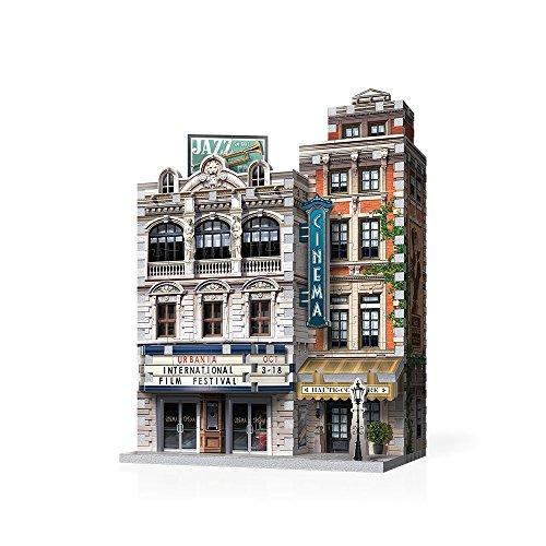 WREBBIT 3D Puzzle, Urbania Collection CINEMA 3D Jigsaw Puzzle. ( 300 pieces) (W3D-0502)