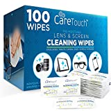 Care Touch Lens Cleaning Wipes, 100 Pre-Moistened and...