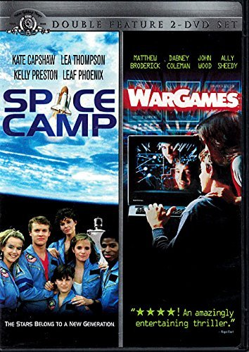 Space Camp and War Games Double Feature 2-dvd Set
