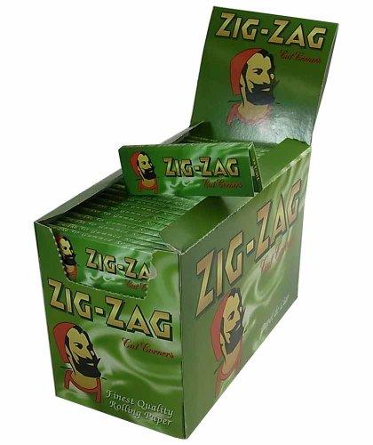 Zig Zag, Cartine Verdi per Sigarette, 100 Pacchetti