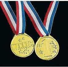 Winner award medals - 72 pc bulk wholesale lot