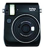 Fujifilm Instax Mini 70 Midnight Black Fotocamera Istantanea per Stampe Formato 62x46 mm, ...