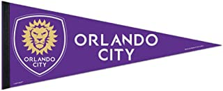 Professional Soccer Teams and Football Clubs Flag Banner Pennants, 12 x 30 in, Soft and Durable (Orlando City)