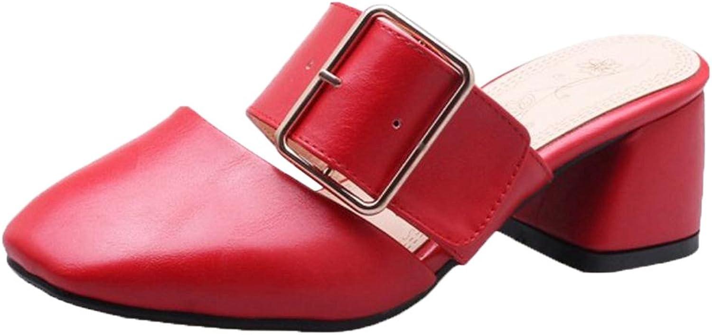 FizaiZifai Women Slip On Mules shoes