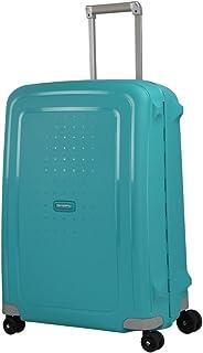 Samsonite S'Cure Spinner - Maleta de equipaje, M (69 cm - 79 L), Azul (Aqua Blue)