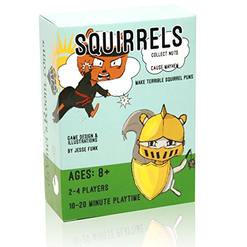 da Vinci's Room Squirrels! - The Fast Paced Strategy Game