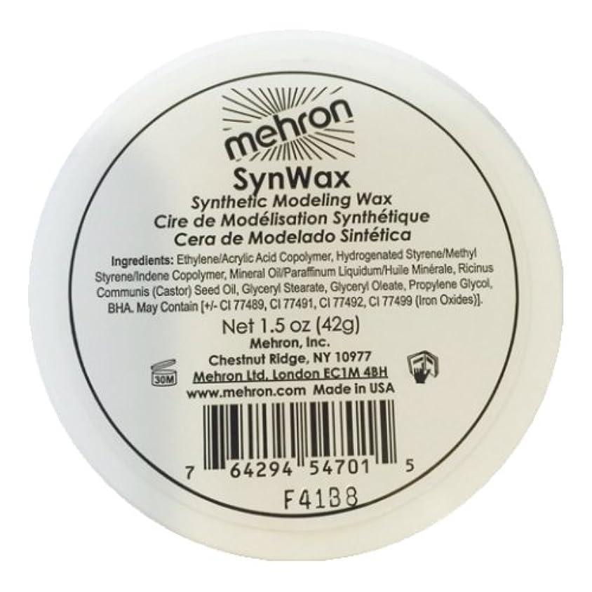 ヒール凍結アロング(6 Pack) mehron Modeling SynWax (並行輸入品)