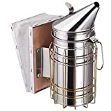 Electomania Bee Smoker Large Size Airflow Bellow and Excellent Smoke Output Bee Hive Smoker Beekeeping Equipment