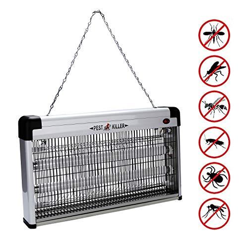 Hengda 40W UV-Licht Insektenvernichter Elektrisch Insektenlampe Küchen Mückenvernichter Mücken GARTEN Mückenlampe Chemiefrei Mückenfalle Büro