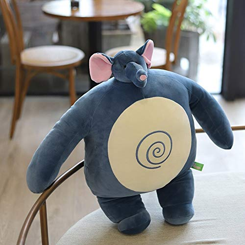 N / A Nueva Caricatura Little Head Kingdom Peluche de Juguete muñeco de Peluche Divertido Oso / Elefante / hipopótamo / Oso Almohada Regalo para niños 32 cm