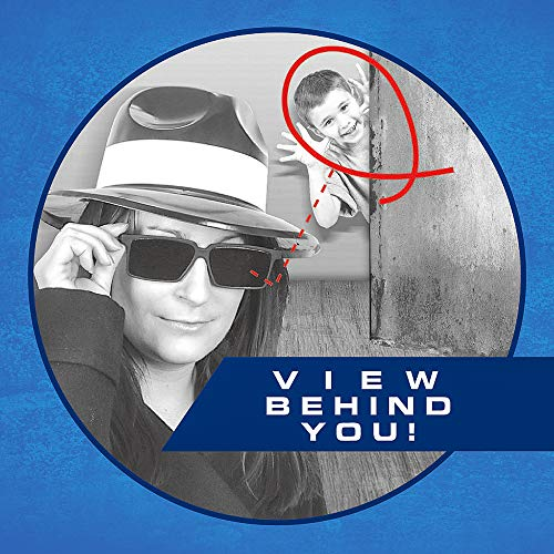 Image of Bedwina Spy Glasses for Kids in Bulk - Pack of 3 Spy Sunglasses with Rear View So You Can See Behind You, for Fun Party Favors, Spy Gear Detective Gadgets, Stocking Stuffer Gifts for Boys and Girls