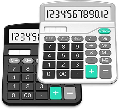 Calcolatrice, SplaksCalcolatrice da Tavolo (2 pack)