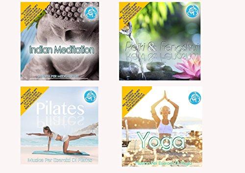 Offerta Speciale 4 Cd Audio Serie Wellness Relax Meditation, Reiki e Feng Shui, Pilates, Yoga Musica Rilassante - Special offer 4 Cd Audio Series Wellness Relaxation Meditation, Reiki and Feng