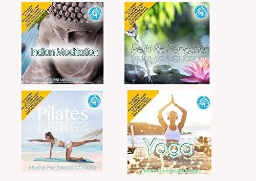 Offerta Speciale 4 Cd Audio Serie Wellness Relax Meditation, Reiki e Feng Shui, Pilates, Yoga Musica Rilassante - Special offer 4 Cd Audio Series Wellness Relaxation Meditation, Reiki and Feng Shui, Pilates, Yoga Music Relaxing