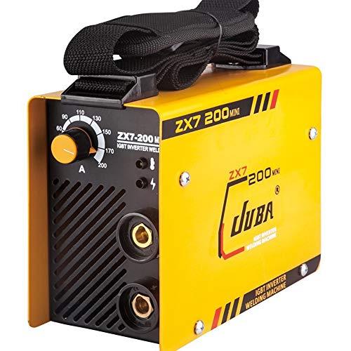 WMG&BB Schweißgerät Inverter Inverter-Schweißgerät, Gas- / gasfrei 220V 200A-Schweißgerät, Haushaltskleinschweißgerät