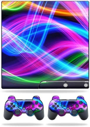MightySkins Regular store Skin Compatible Louisville-Jefferson County Mall with Sony PS3 Slim Ski Playstation 3