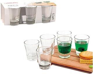 Anilar drinking shot glasses for tequila-Vodka 6pcs set 7.5cl