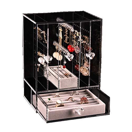Schmuckständer für Ohrringe, Acryl, transparent