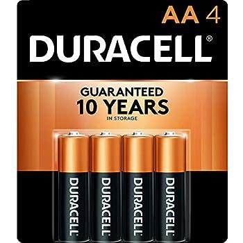 Duracell Procter & Gamble DURMN1500B4Z Alkaline General Purpose Battery Black  12152  4 Count