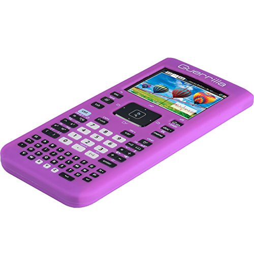 Guerrilla Silicone Case for Texas Instruments TI Nspire CX/CX CAS Graphing Calculator, Purple Photo #7