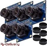 AZDelivery 5 x Kamera für Arduino OV7670 300KP VGA-Kamera