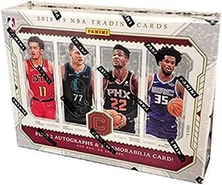 2018/19 Panini Cornerstones NBA Basketball box (6 cards)