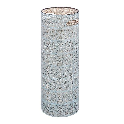Paragüero Azul de Metal de diseño de 53x20x20 cm - LOLAhome