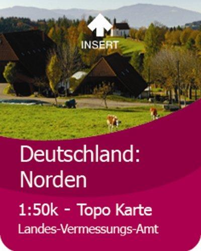 Satmap GPS System Karte 1:50000 Deutschland: Norden