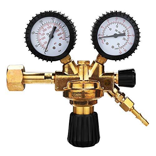 Wolketon zu MIG/MAG WIG TIG Mehrwegflaschen, Druckminderer Druckregler für Argon/Co² Schweißgerät Schutzgas