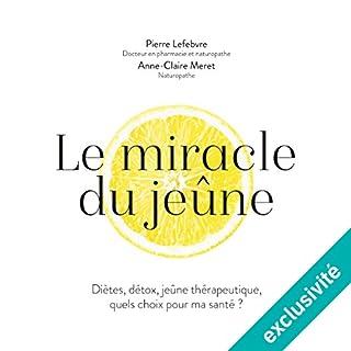 Couverture de Le miracle du jeûne